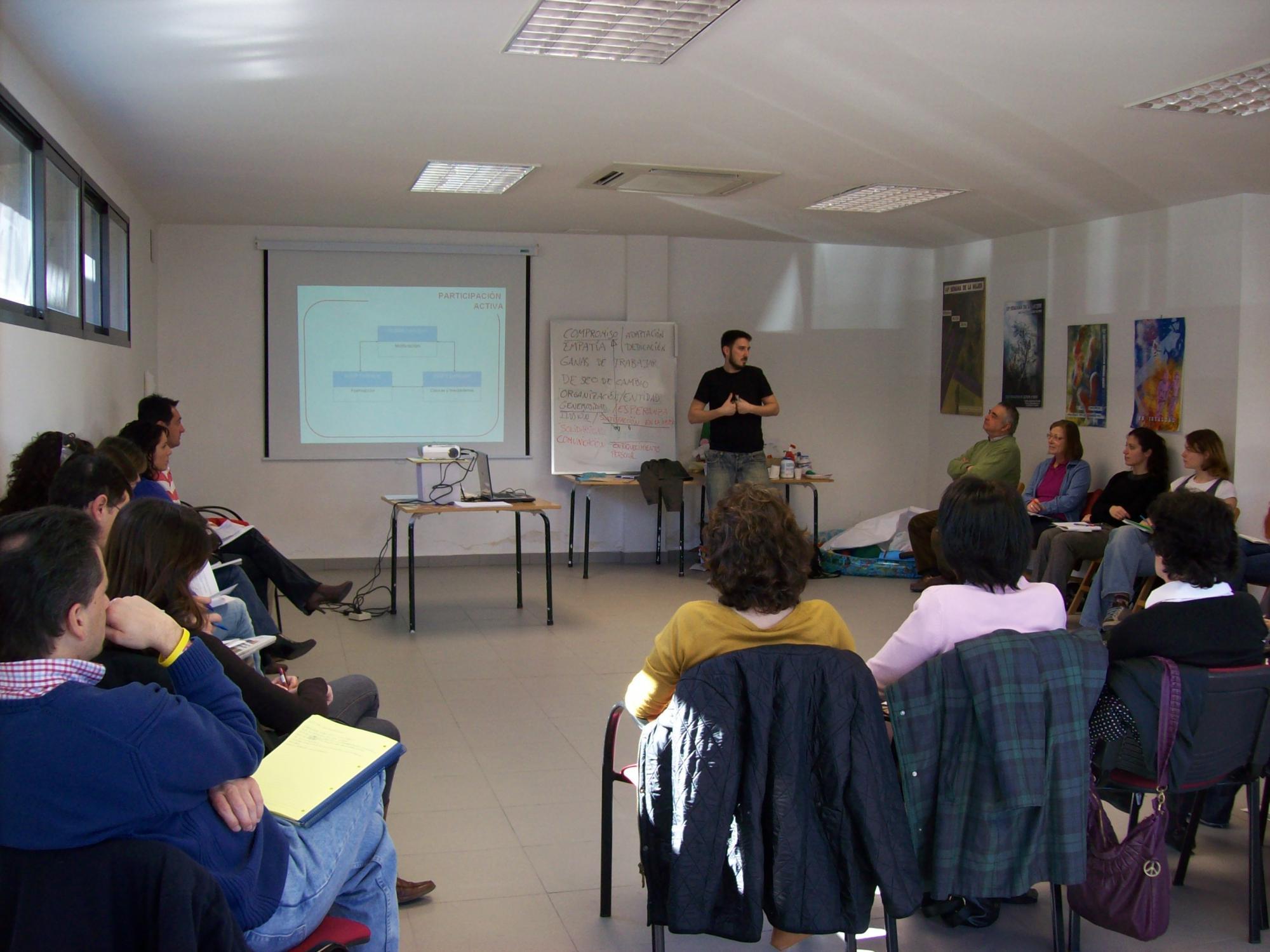 Comienzan los Cursos gratuitos de Formación en Voluntariado de Las Rozas