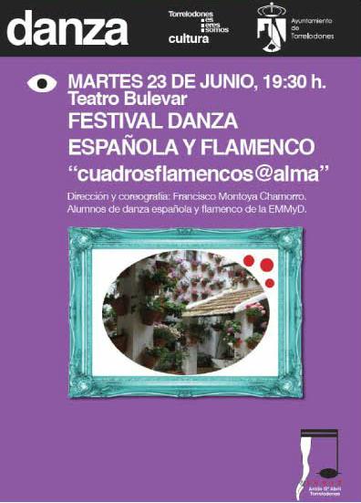 Festival de danza española y flamenco: Cuadrosflamenco@alma
