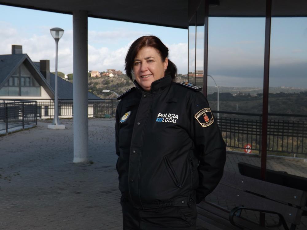 Dolores Aznar, jefa de la Policía local de Torrelodones