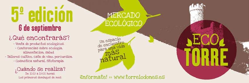 El 6 de septiembre, nueva edición del Mercadillo Ecológico de Torrelodones