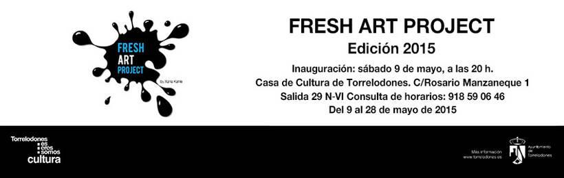 La edición de 2015 de Fresh Art Proyect, en Torrelodones