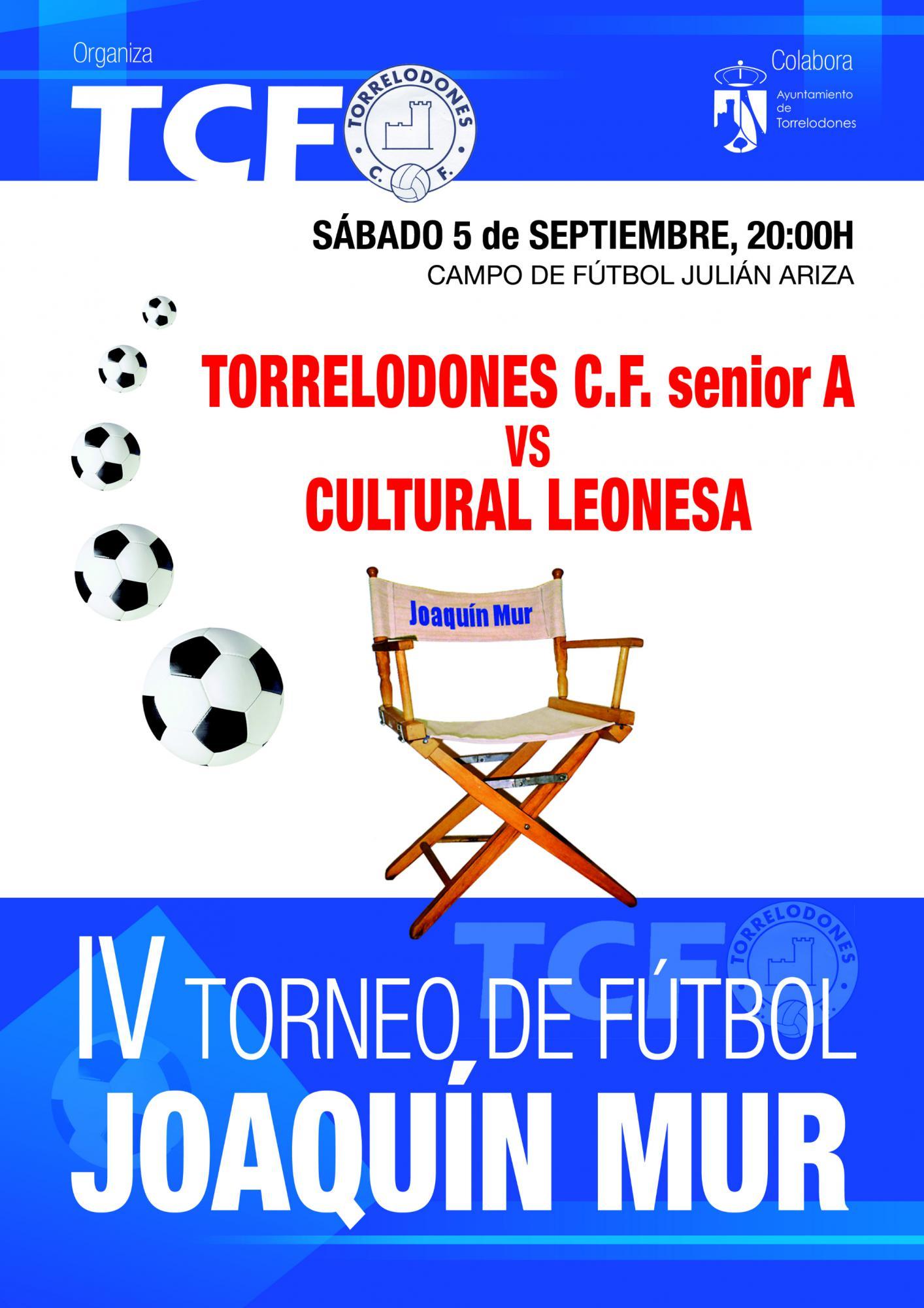 IV Torneo de Fútbol Joaquín Mur