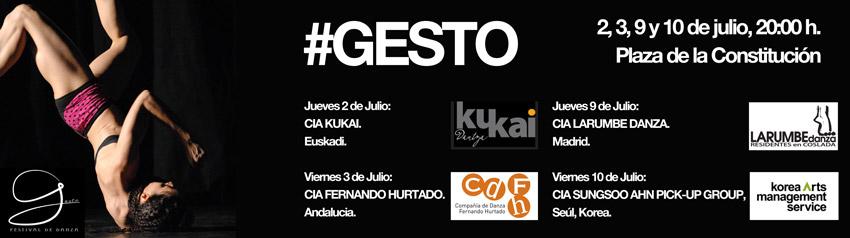 #Gesto, Festival de Danza en la Calle