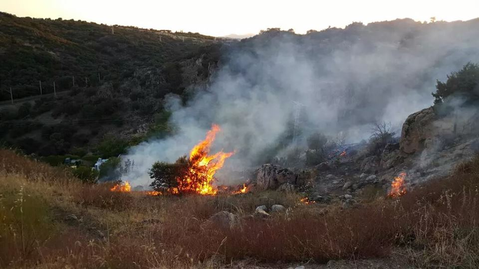 Nuevo incendio en Torrelodones