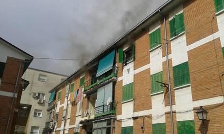 Otro incendio en la Colonia de Torrelodones