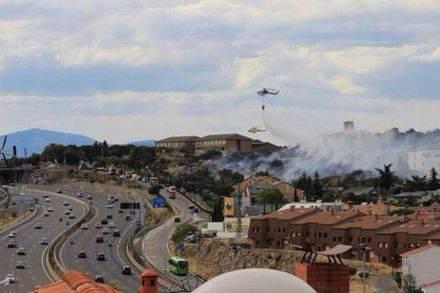 Imputado un joven por tres incendios en el Monte de los Ángeles en agosto de 2014