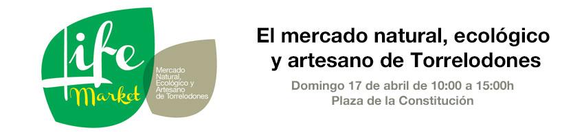 Este domingo 17, próxima edición de Life Market en Torrelodones