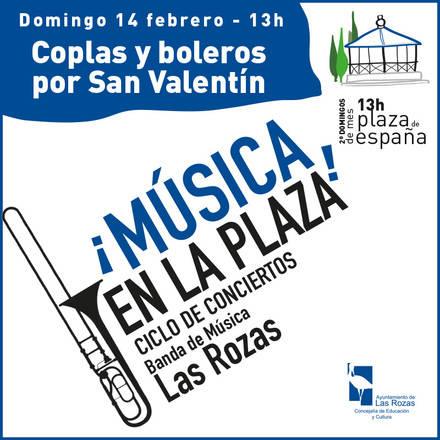 """Las Rozas: coplas y boleros en la Plaza por San Valentín, y """"Lo mejor del Barroco"""" en el Auditorio"""