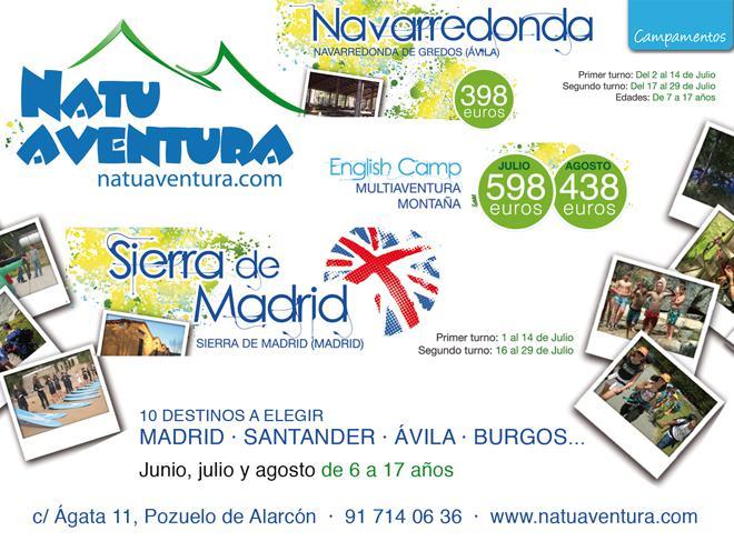 Natuaventura en la Sierra de Madrid