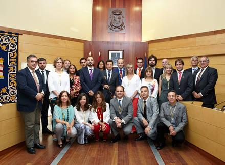 José de la Uz, del PP, investido alcalde de Las Rozas