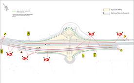 El ayuntamiento de Torrelodones prevé que las obras del paso inferior finalizarán en mayo de 2016
