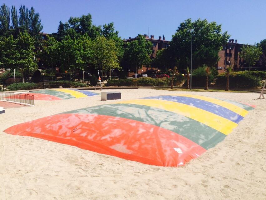 Abierta al público la nueva zona recreativa del Parque París en Las Rozas