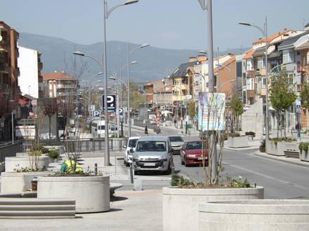 Quejas por el estado de los aparcamientos públicos de Collado Villalba