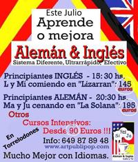 Aprende y mejora tus idiomas este verano con Inglés, café y té.