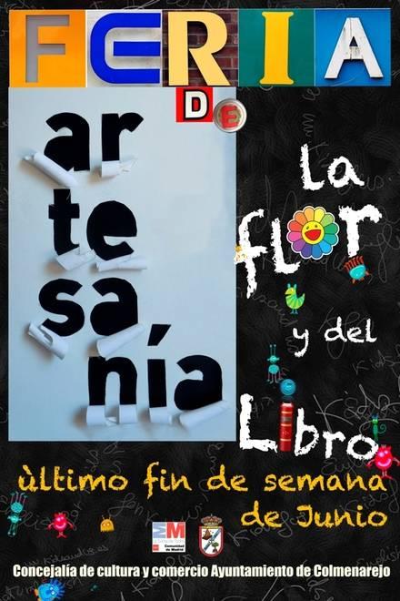 Feria de Artesanía, de la flor y el libro en Colmenarejo