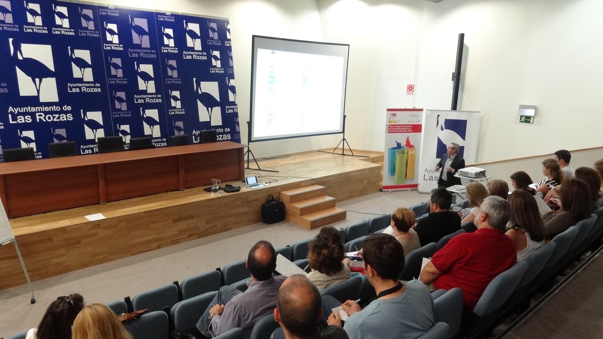 Las Rozas ofrece talleres orientados a incrementar la competitividad del comercio minorista