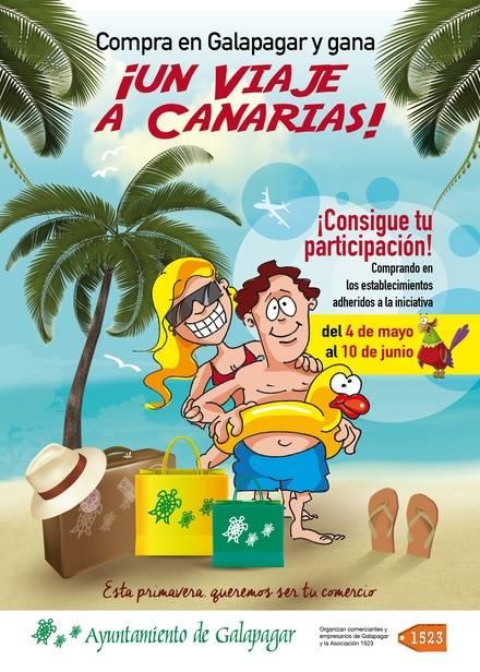 Un viaje a las Islas Canarias, el premio por comprar en Galapagar