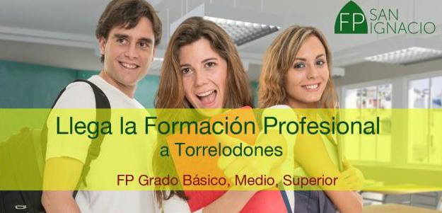 II Sesión Informativa sobre FP en San Ignacio Torrelodones