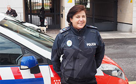 Dolores Aznar, nombrada jefa de la Policía Local de Torrelodones