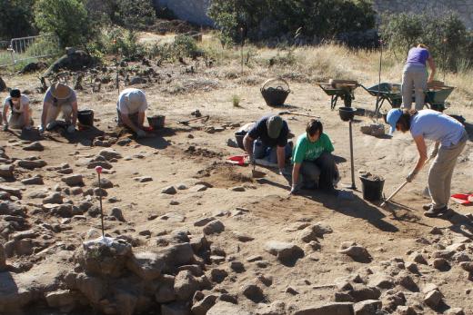 Puertas abiertas en el yacimiento arqueológico de La Cabilda