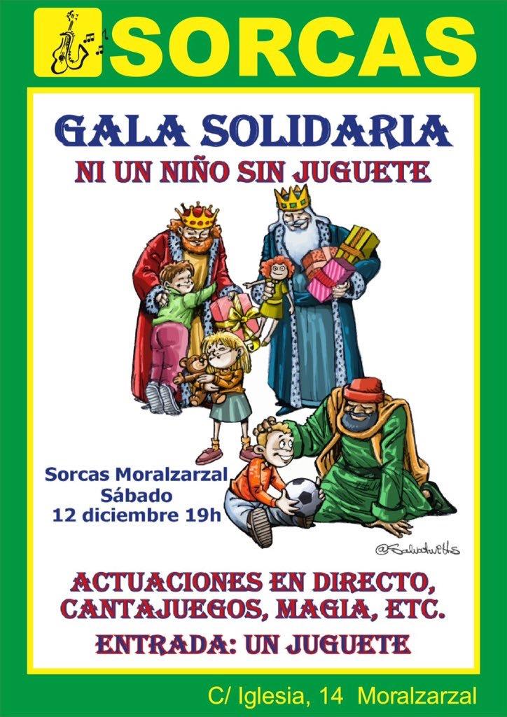 SORCAS celebra la cuarta recogida de juguetes en Moralzarzal