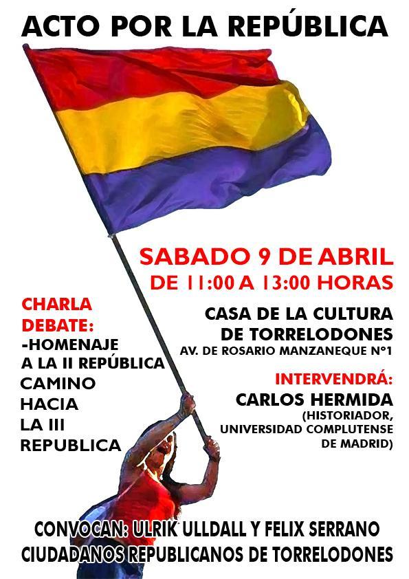 Celebración del pasado y el futuro de la República en España