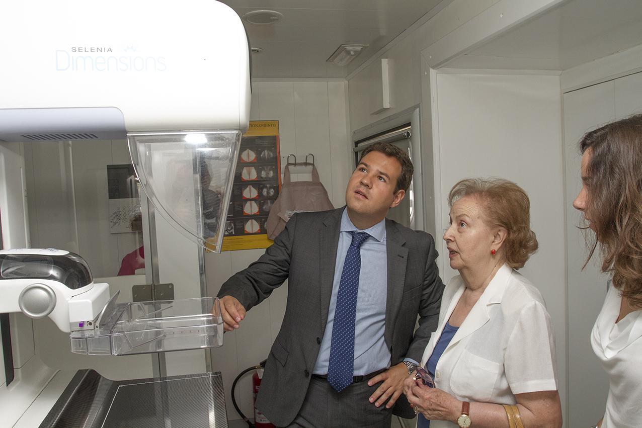 Las Rozas pone en marcha una nueva campaña de detección precoz del cáncer de mama
