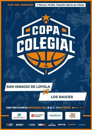 El San Ignacio y Los Sauces se enfrentan en la Copa Colegial de Baloncesto
