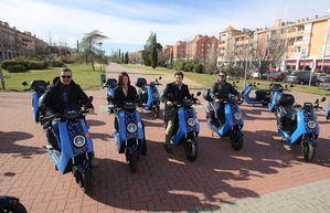 El 'moto-sharing' llega al Parque Empresarial de Las Rozas