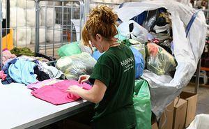 103 toneladas de ropa usada para Humana en 2018