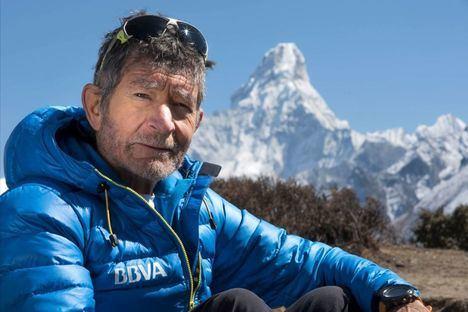 Carlos Soria visita San Lorenzo de El Escorial para contar su vida en la montaña
