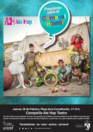Circo y galletas solidarias en el Carnaval Infantil de Torrelodones