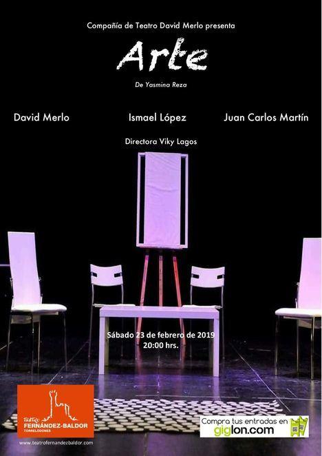 'Arte', de Yasmina Reza, en el Teatro Fernández Baldor de Torrelodones