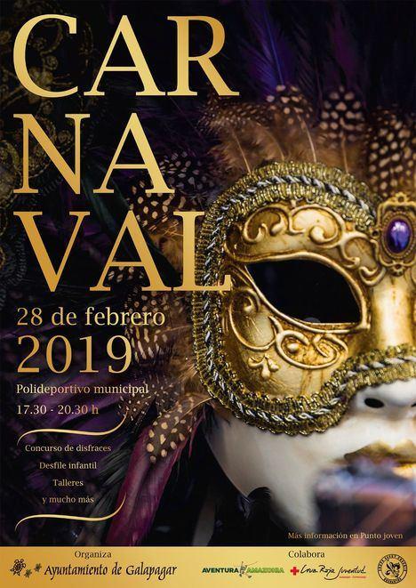 El Polideportivo acoge una Gran Fiesta de Carnaval el 28 de febrero