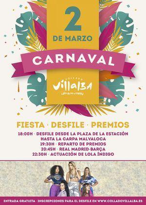 Lola Índigo actuará en el fin de fiesta del Carnaval 2019