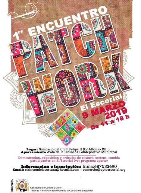 Artesanos del patchwork se reunirán el 9 de marzo