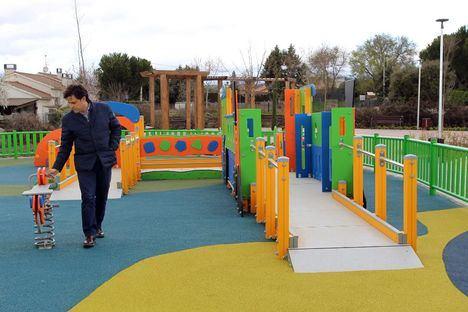 Abre el nuevo parque de la Avenida Victimas del Terrorismo