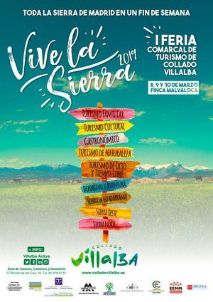 Toda la Sierra madrileña, el la I Feria Comarcal de Turismo de Collado Villalba