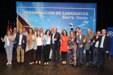 El Partido Popular presenta a sus candidatos en la zona Oeste