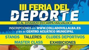 Actividades gratuitas y exhibiciones en la III Feria del Deporte de Collado Villalba