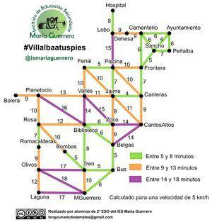 Collado Villalba, a pie gracias a los alumnos del IES María Guerrero