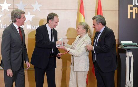 La Real Casa de Correos acoge la entrega del Premio Umbral