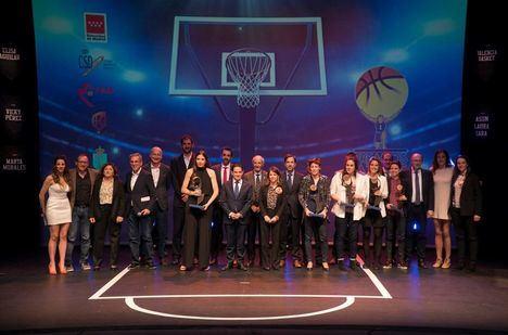 Entregados los II Premios Atlas del baloncesto femenino