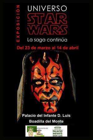 El Universo Star Wars, en Boadilla del Monte hasta abril