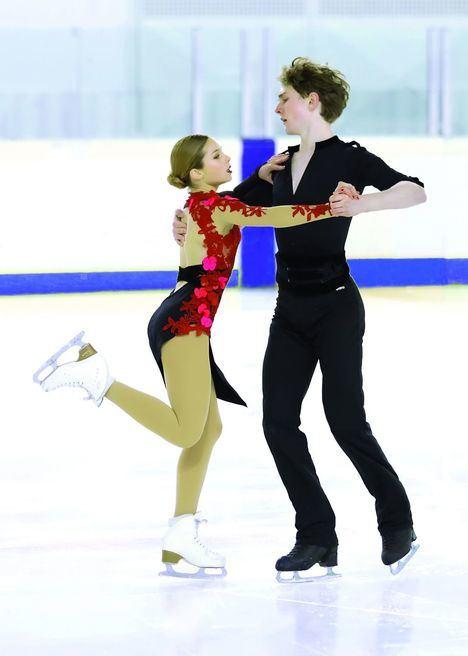 Sofía Val despide su temporada en el Mundial Junior de patinaje