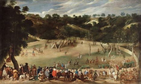 El cuadro de Velázquez que retrata el Hoyo del siglo XVII