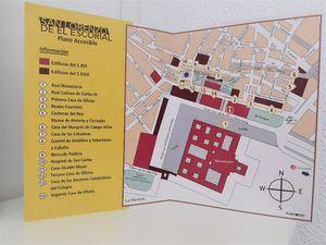 San Lorenzo de El Escorial, accesible también en braille