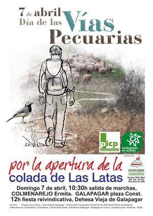 El 7 de abril se celebra el Día Estatal de las Vías Pecuarias