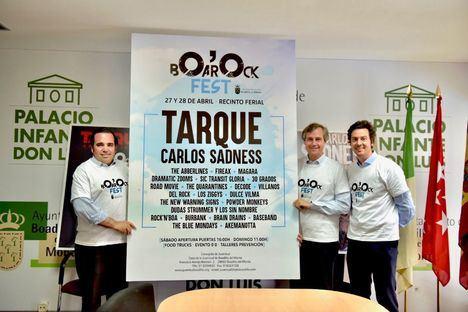 Carlos Sadness y Carlos Tarque acompañarán a 21 grupos locales en BOarOck