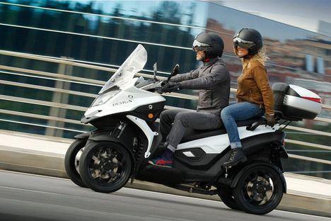 Gesercar ya comercializa el scooter de cuatro ruedas Qooder 2018